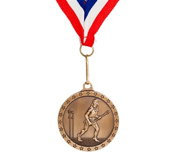 MDL-1 - Native American Lacrosse Medal ***AS LOW AS $1.99***