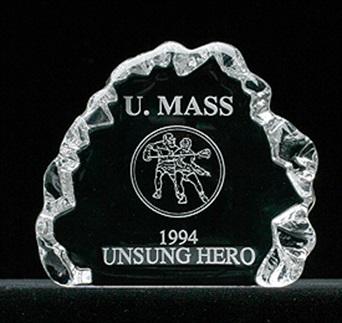 L-15 - Iceberg Style Glass Award