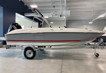 2021 Bayliner Element E18 Gray/White/Red  Boat