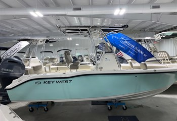 2021 Key West 219 FS Seafoam/White  Boat