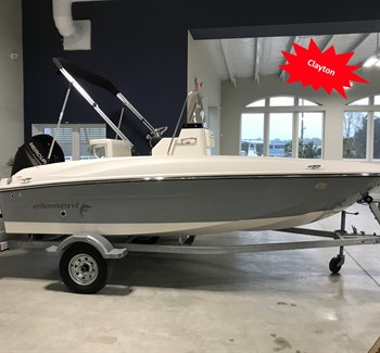 2018 Bayliner Element F16 Grey New Boat