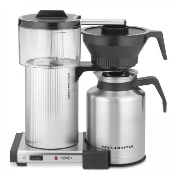 Carolina Coffee Moccamaster CDT Grand - Brushed Silver