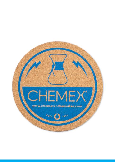Carolina Coffee CHEMEX Cork Coaster