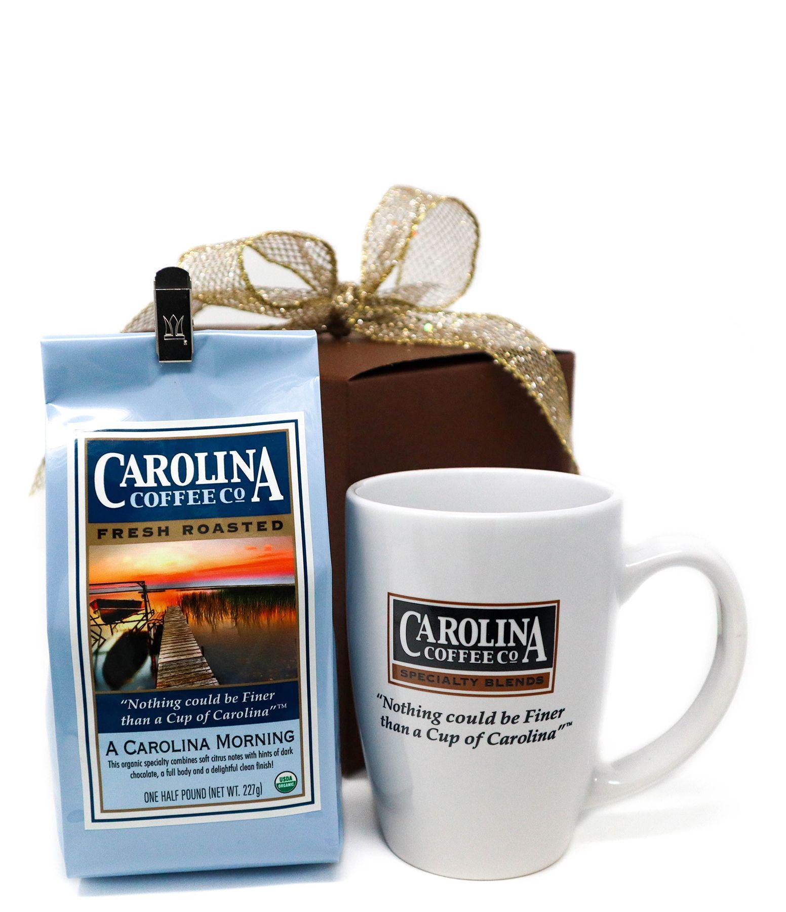 Carolina Coffee Coffee With Porcelain Logo Mug
