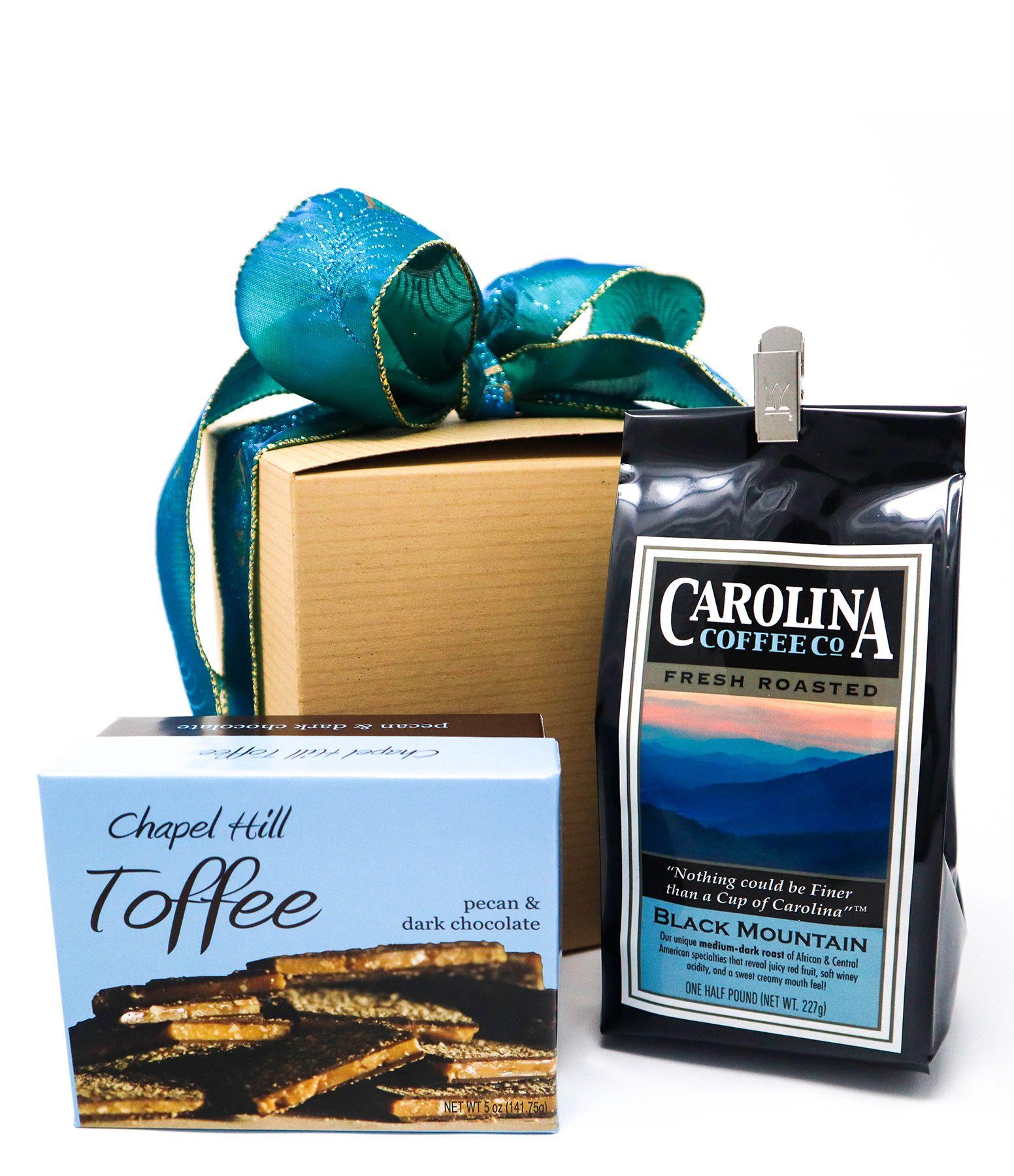 Carolina Coffee Chapel Hill Toffee and Coffee Gift Box
