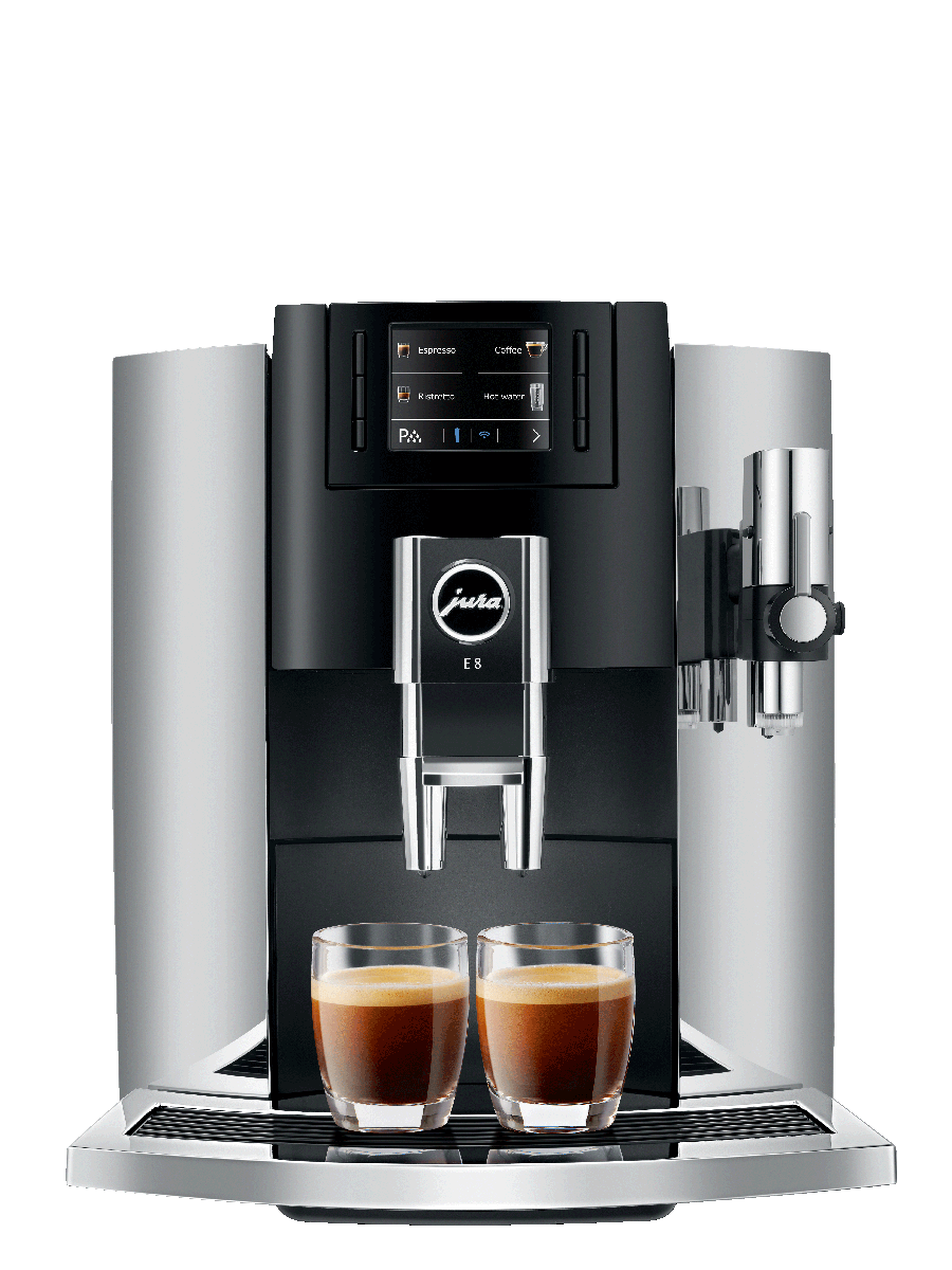 Carolina Coffee Jura E8 Chrome