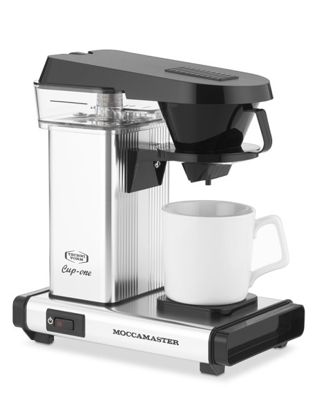 Carolina Coffee Technivorm Moccamaster Cup- One Coffee Brewer - Polished Silver