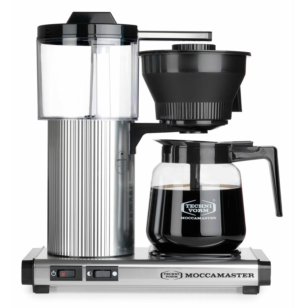 Carolina Coffee Moccamaster CD Grand - Brushed Silver
