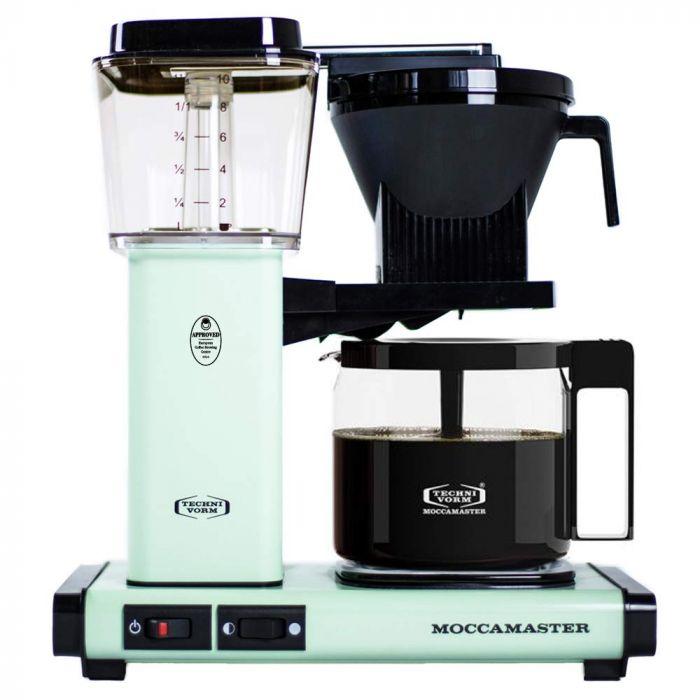 Carolina Coffee Technivorm Moccamaster KBGV Select Automatic Drip Stop Coffee Maker With Glass Carafe - Pistachio