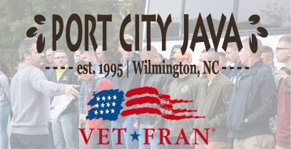 Port City Java is a 3 Star VetFran Program Volunteer