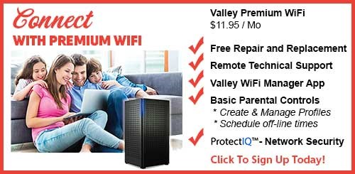 Residential Internet Valley WiFi
