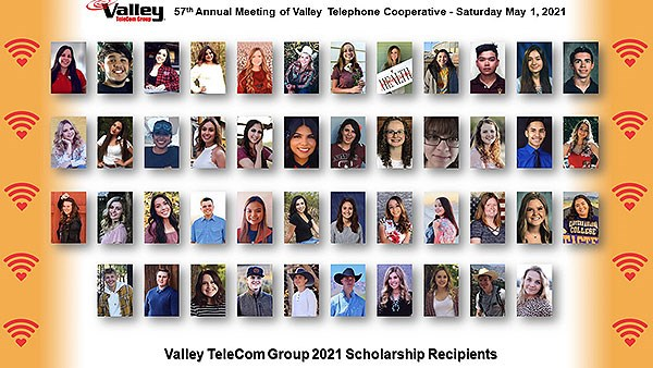 2019-2020 Scholarship recipients
