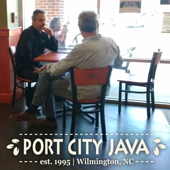 Port City Java CEO, Steven Schnitzler, meets with customers and employees each month.