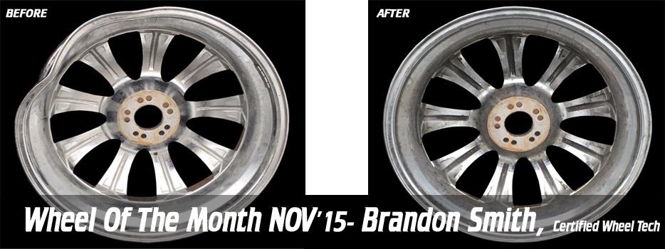 Wheel of the Month, Nov '15, Brandon Smith, Certified Wheel Tech